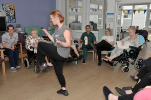 PHOTOS OF DANCE/MOVEMENT SESSION WITH RUBICON @ UHL SRC