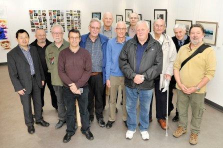 PHOTOGRAPHS OF THE OPENING OF CARDIFF CAMERA CLUB EXHIBITION IN THE HEARTH GALLERY - EMAIL TO BRYN KENTISH